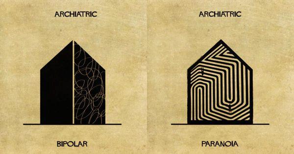 Interpretaciones arquitectónicas de las enfermedades mentales
